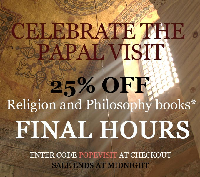 Celebrate the Papal Visit: Last Chance to Enjoy 25% Off