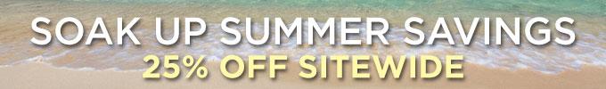 Summer 2015: Save 25%