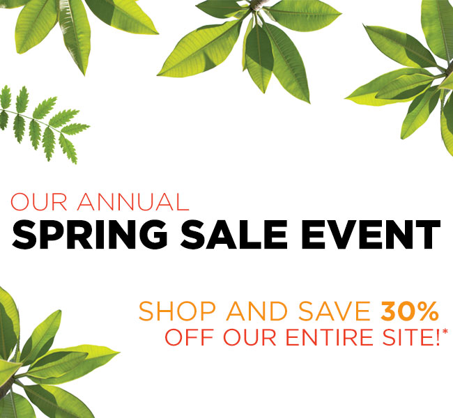 Spring Sale Last Chance
