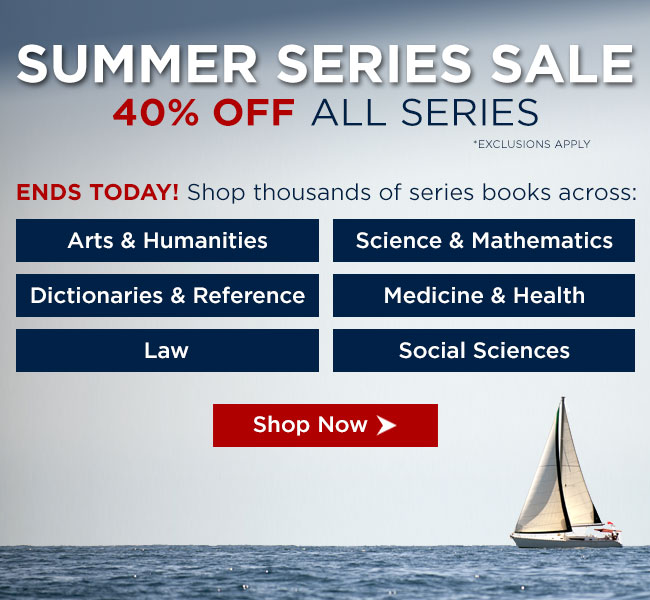 Ends Today! Shop Thousands of Series Books Across All  Disciplines